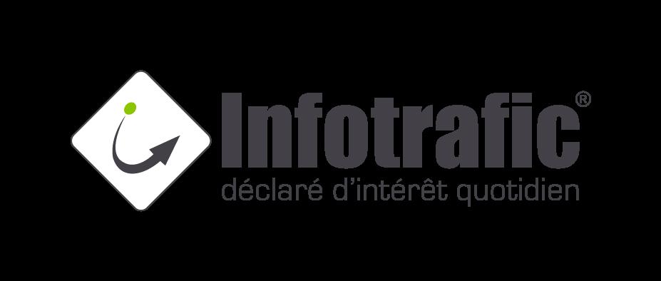 Logo Infotrafic - labellisé - Label LUCIE
