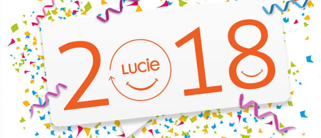 Carte de voeux du Label LUCIE 2018