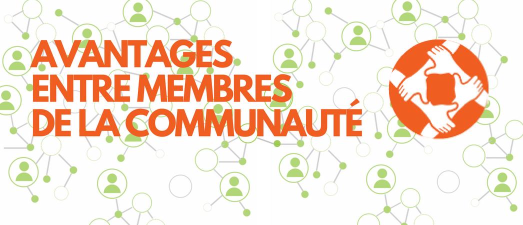 Avantages pour les membres de la Communauté LUCIE - Label LUCIE