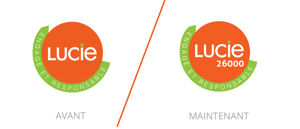 logo label lucie 26000 RSE