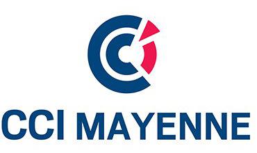 Logo de la CCI Mayenne - Label LUCIE