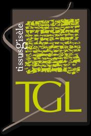 Logo TGL Tissus Gisèle - Label LUCIE