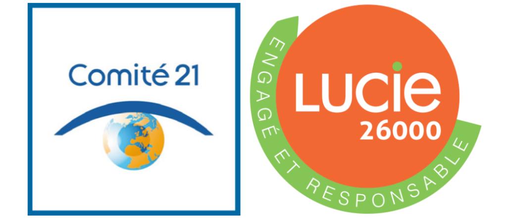 logo du comité 21 - Labe LUCIE
