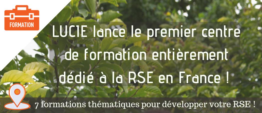 Centre de formation RSE - Label LUCIE