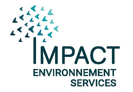 Logo Impact Environnement Services - Label LUCIE