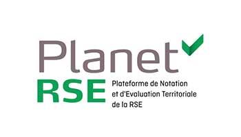 Logo Planet RSE - partenaire - Label LUCIE