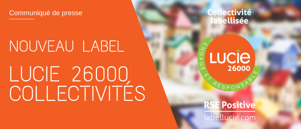 logo Label LUCIE 26000 Collectivités - Label LUCIE