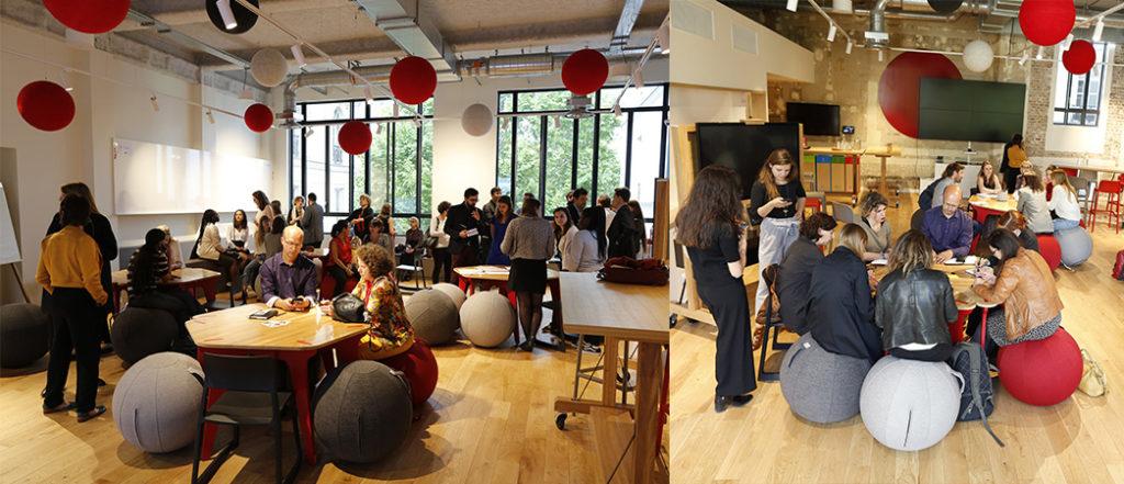Photo de l'afterwork sur la Mode Circulaire organisé en partenariat avec Goodwill-management et OPENMIND KFE - Label LUCIE