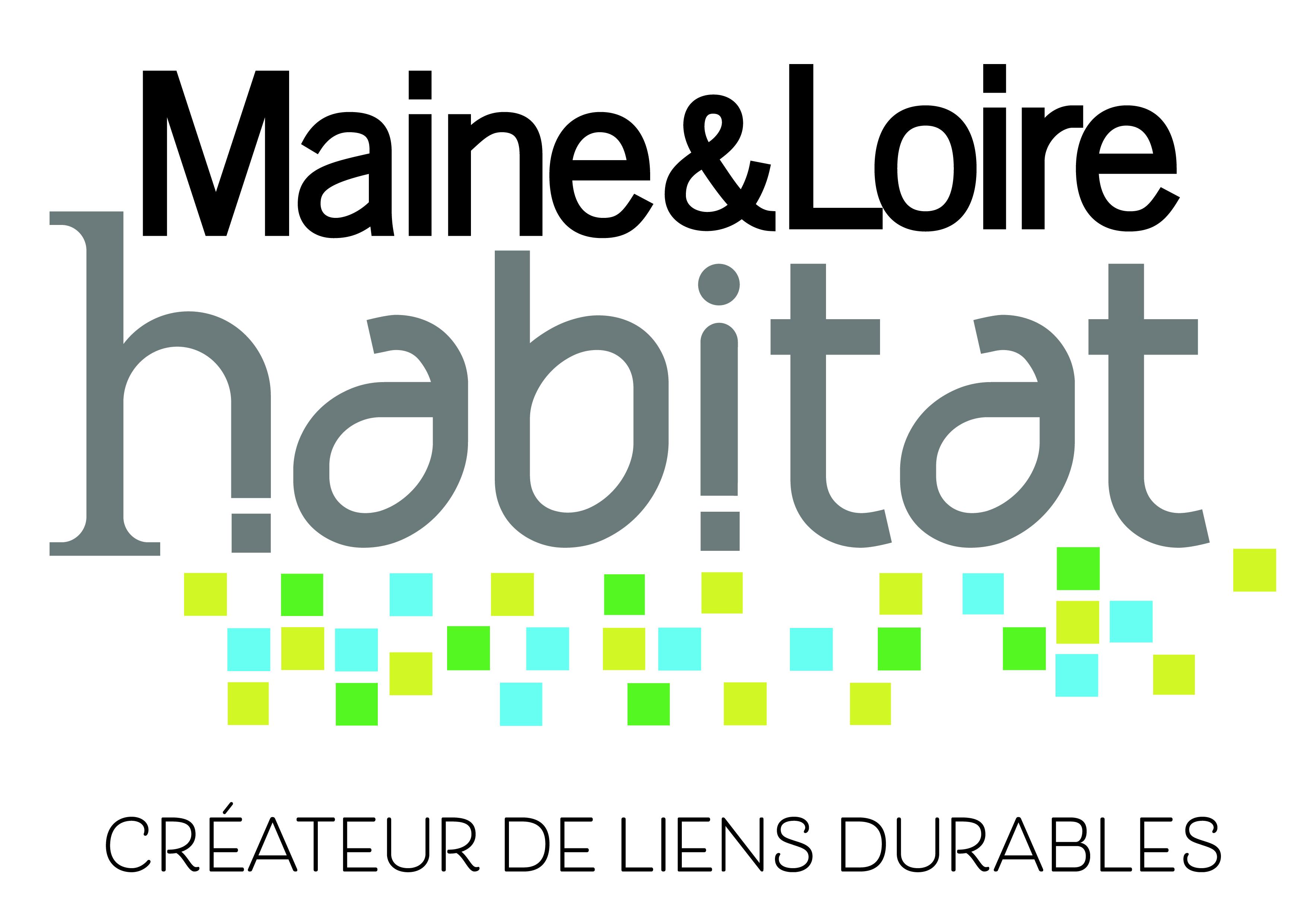 Logo Maine et loire habitat label lucie