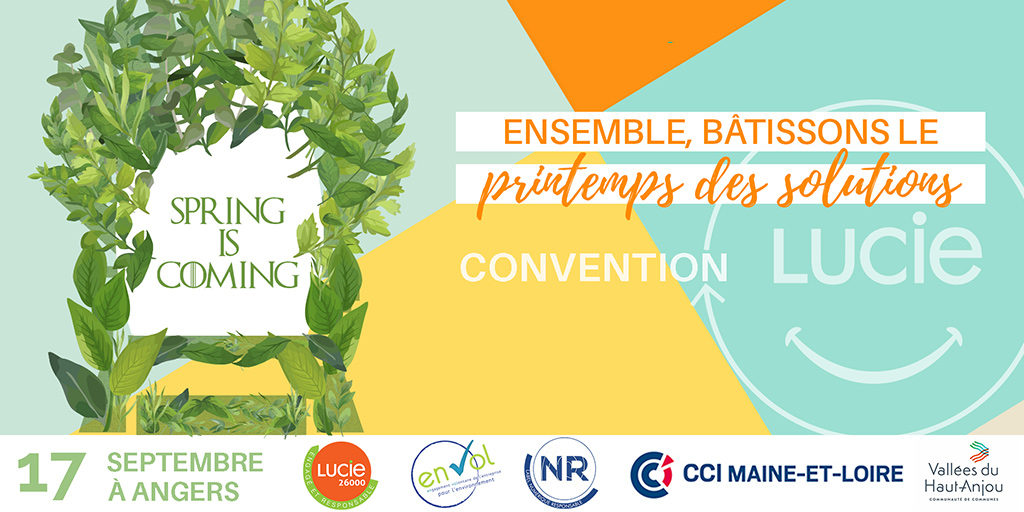 Affiche convention LUCIE 17 septembre 2019 - Label LUCIE