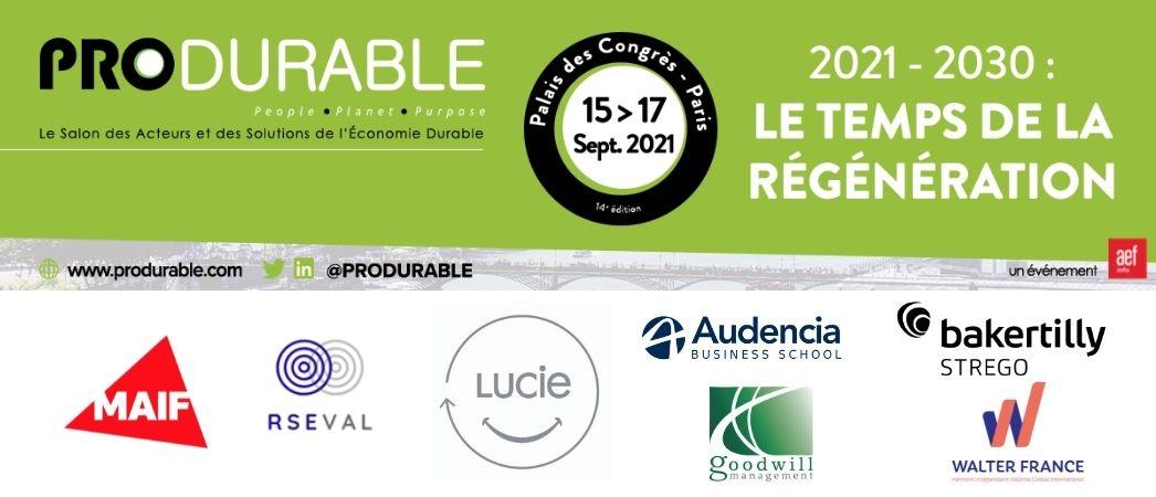 Village LUCIE - Salon PRODURABLE 2021 - Label LUCIE