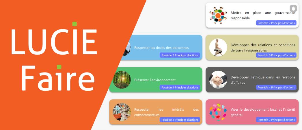 LUCIE Faire base de données RSE - Label LUCIE