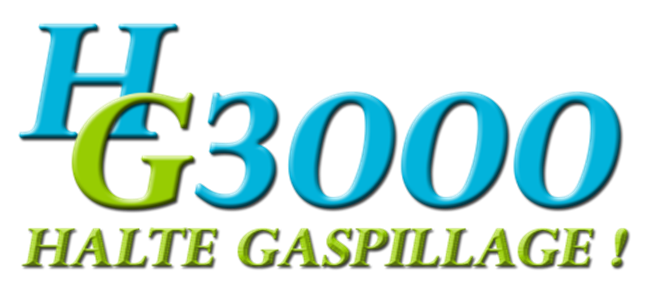 logo - Halte Gaspillage HG3000