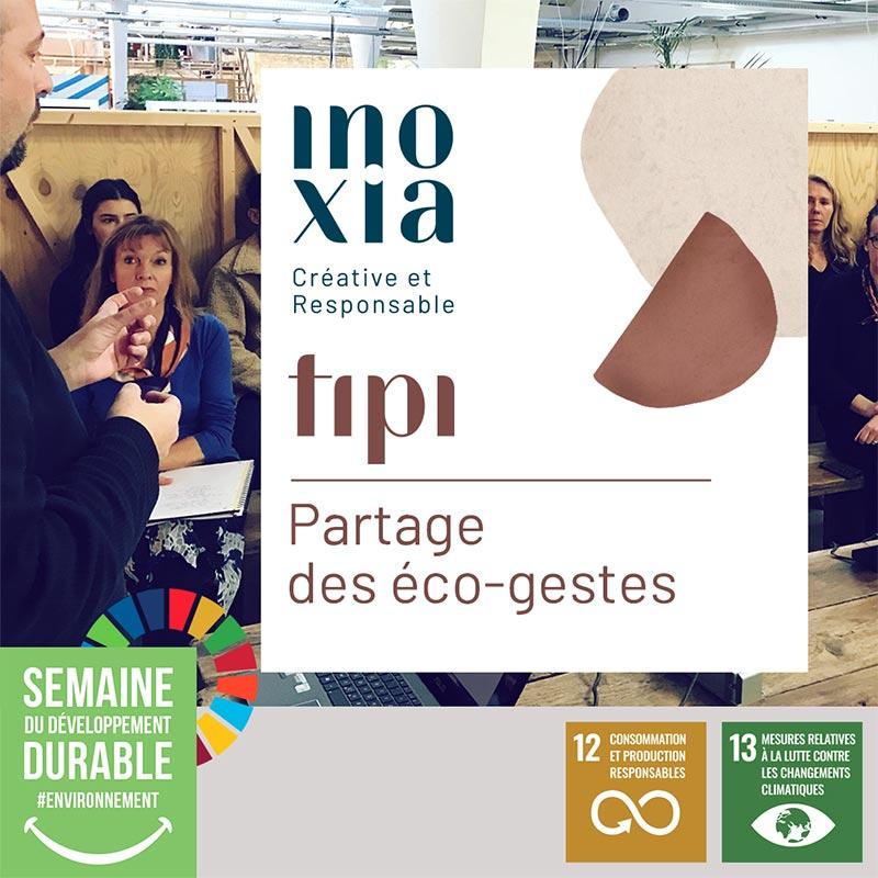 Bonne pratique Inoxia - ateliers TIPI - Label LUCIE
