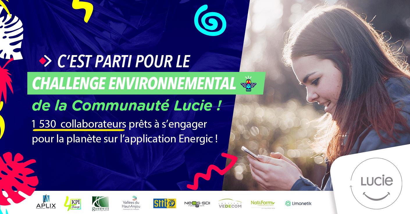 Lancement du Challenge environnemental de la Communauté LUCIE