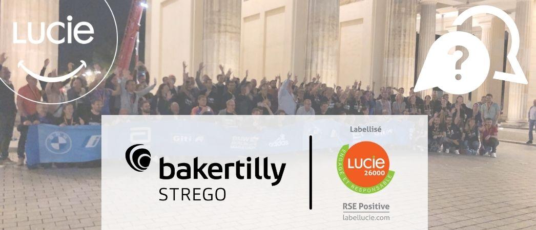 Photo du marathon de Berlin de Baker Tilly STREGO - Label LUCIE